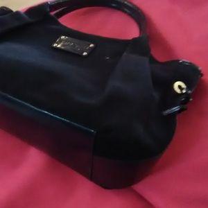 Navy canvas Kate Spade Bag